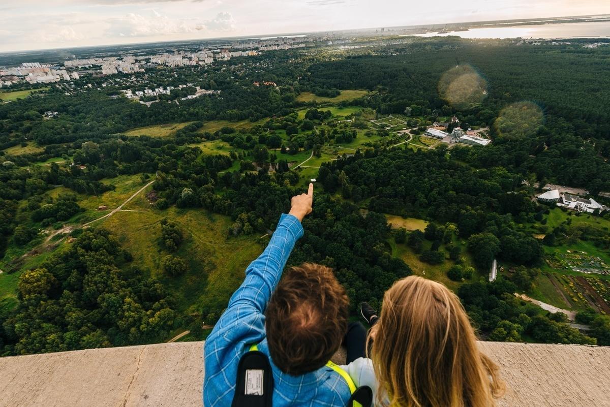 Vaade Tallinna teletornist